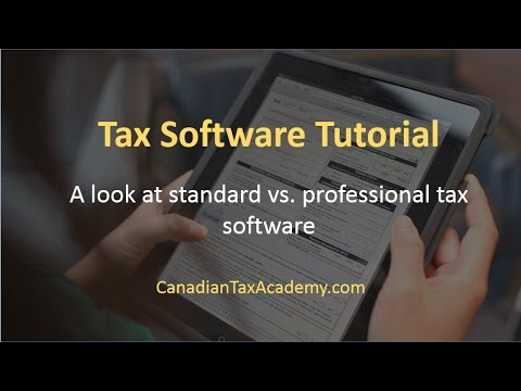 canada tax software review 2014