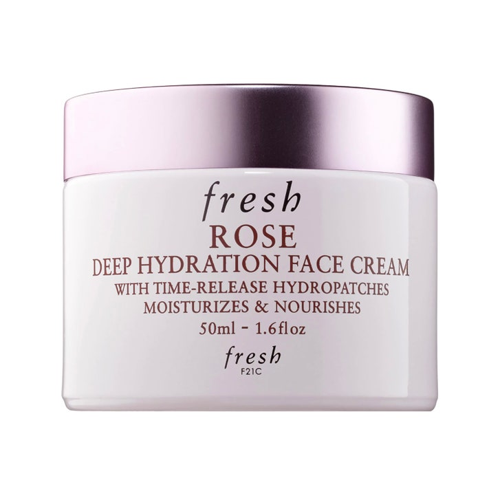 fresh rose deep hydration face cream review