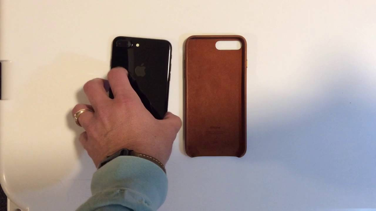 apple leather case review iphone 7 plus