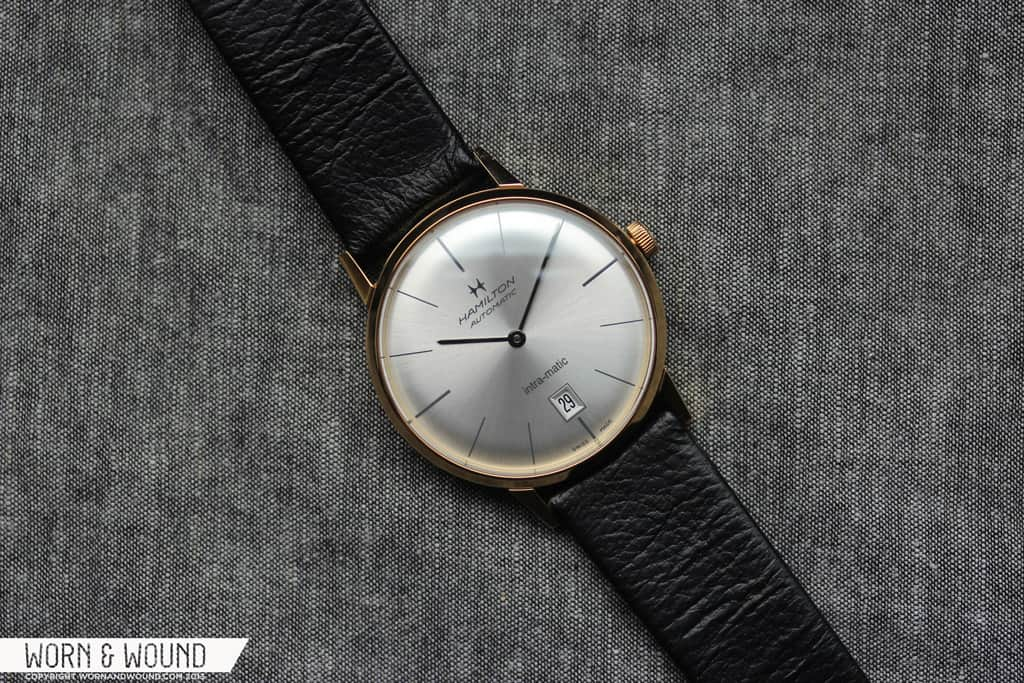 hamilton intra matic 38mm review