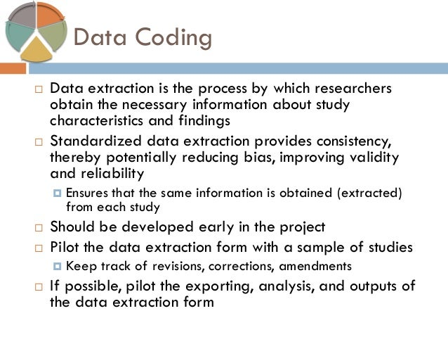 data extraction form systematic review