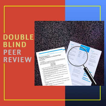 double blind peer review journals