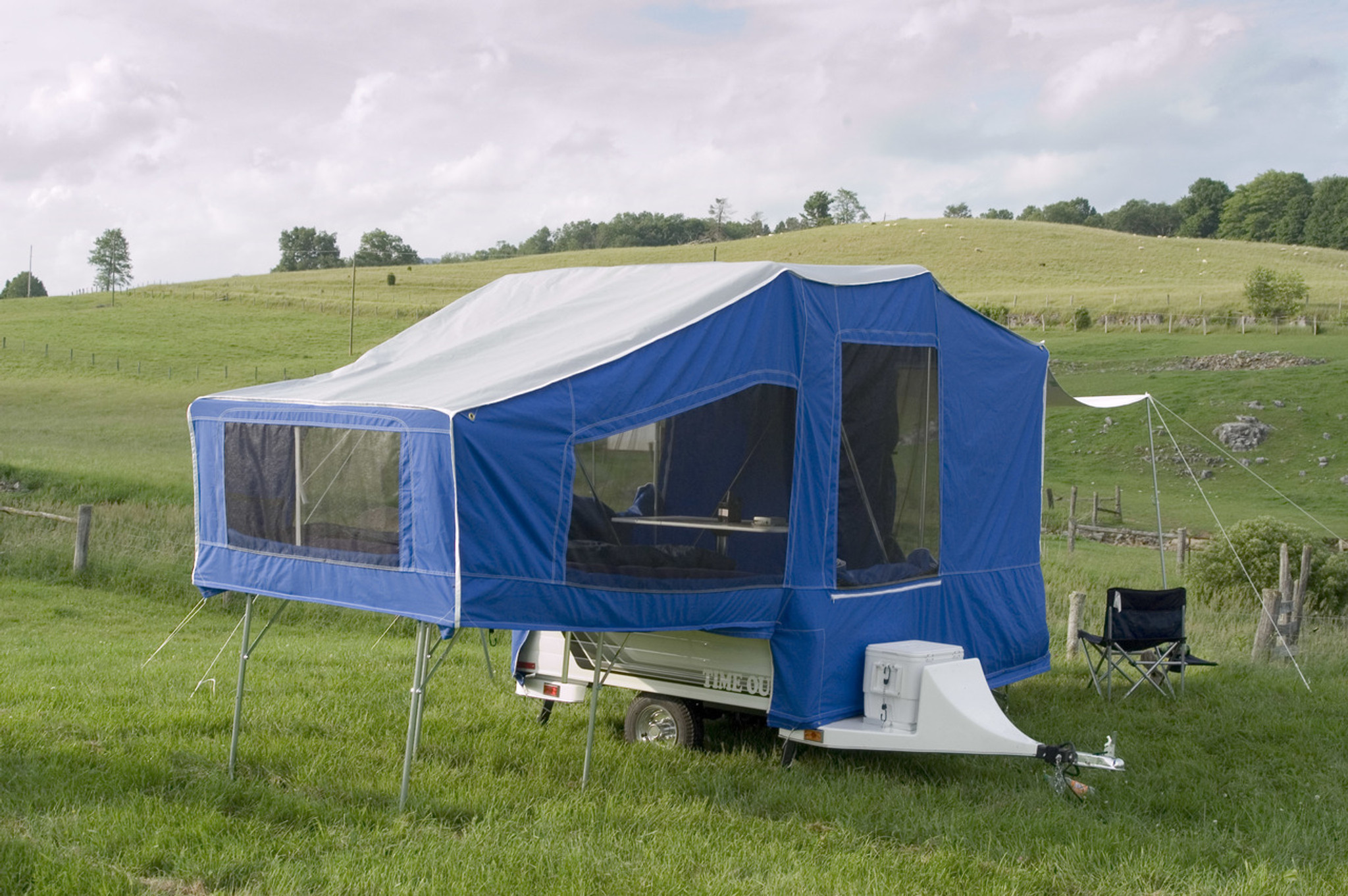 time out motorcycle camper reviews