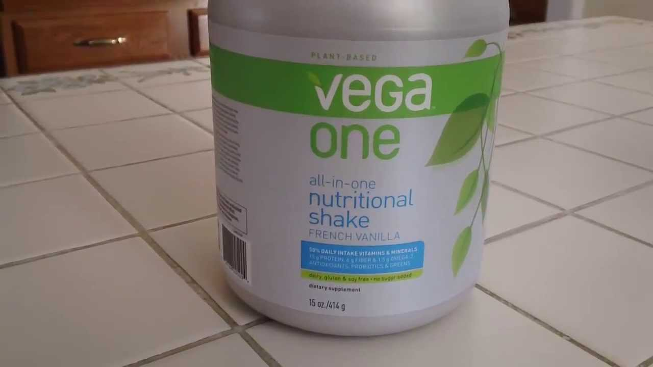 vega all in one nutritional shake review